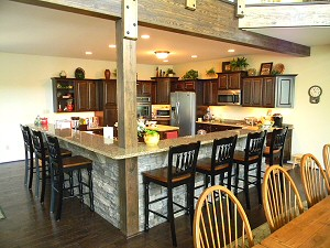 Lehigh Valley Custom Kitchens built by Service Construction Co. Inc. of Lehighton, Pa.